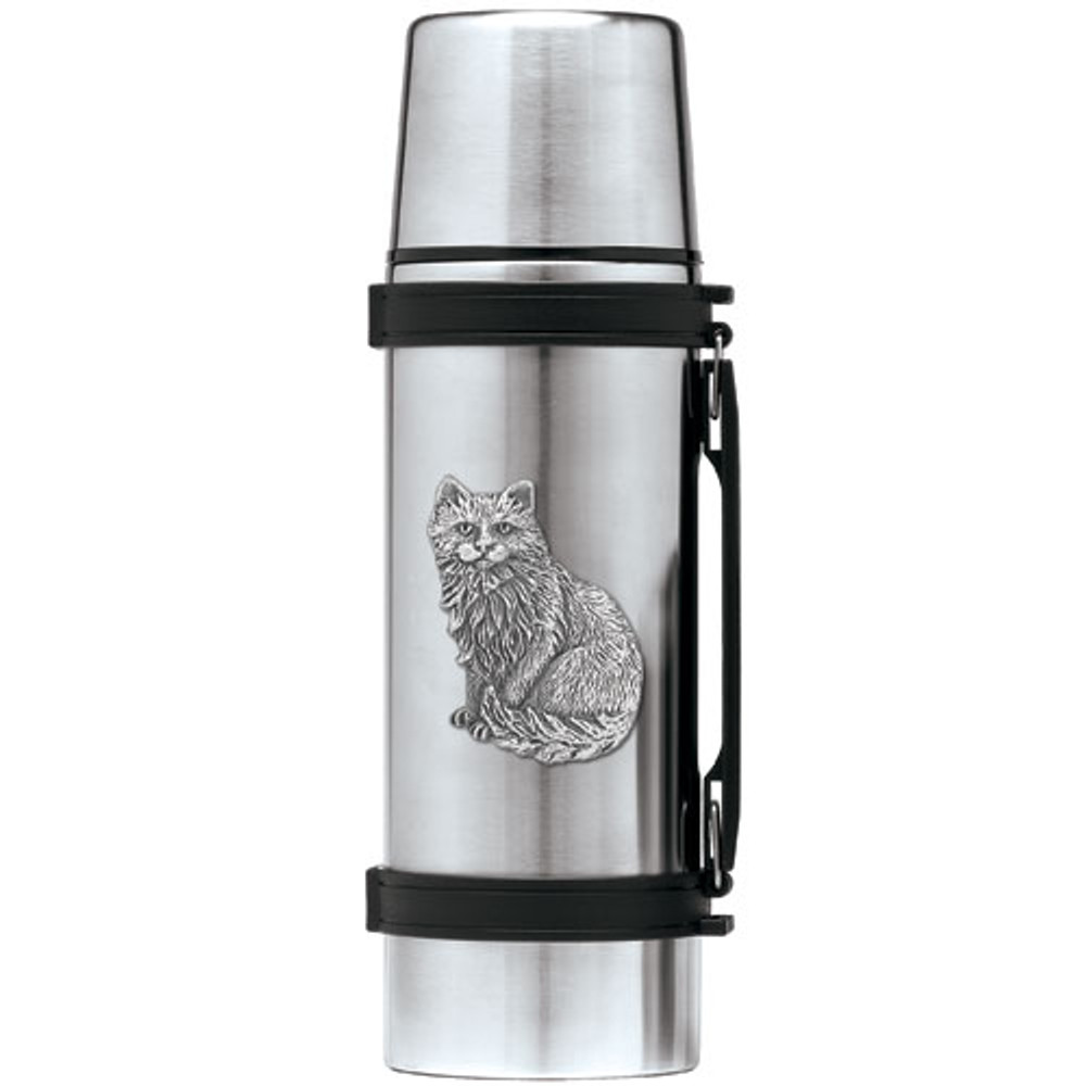 Cat Thermos | Heritage Pewter | HPITHS3830