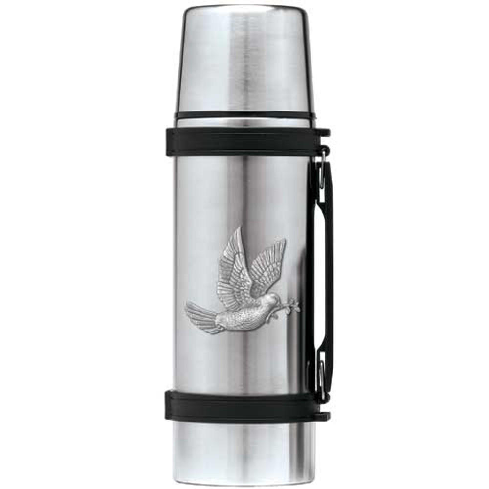 Dove Thermos | Heritage Pewter | HPITHS4162