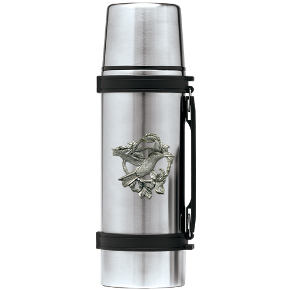 Hummingbird Thermos | Heritage Pewter | HPITHS4119