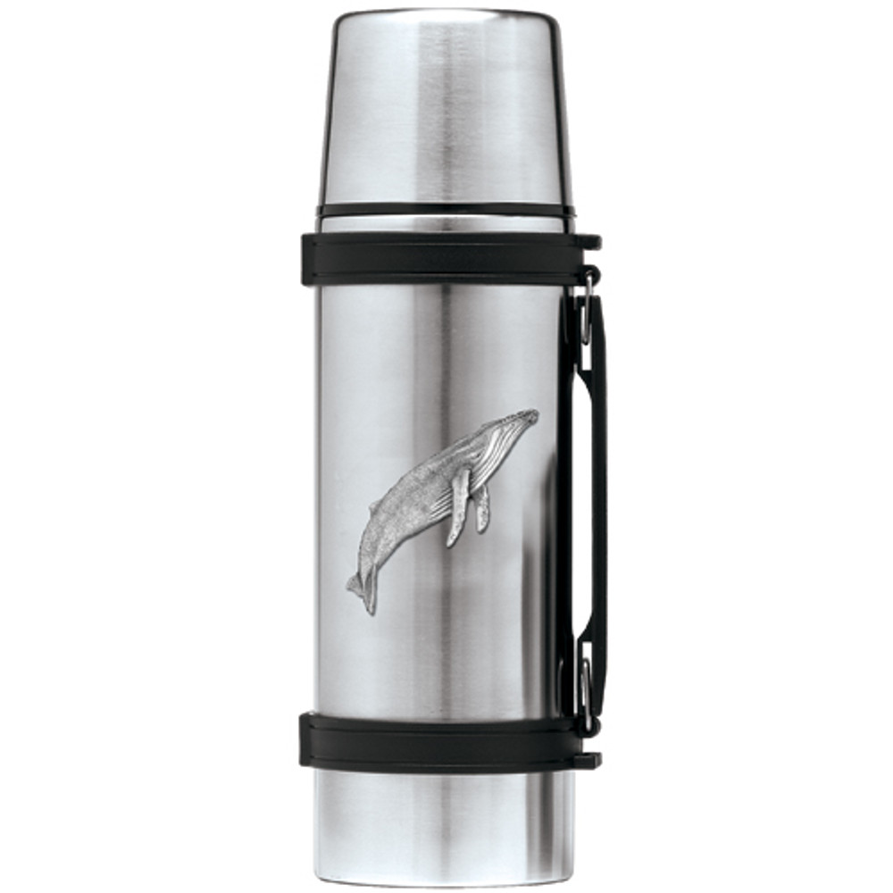 Humpback Whale Thermos | Heritage Pewter | HPITHS3380