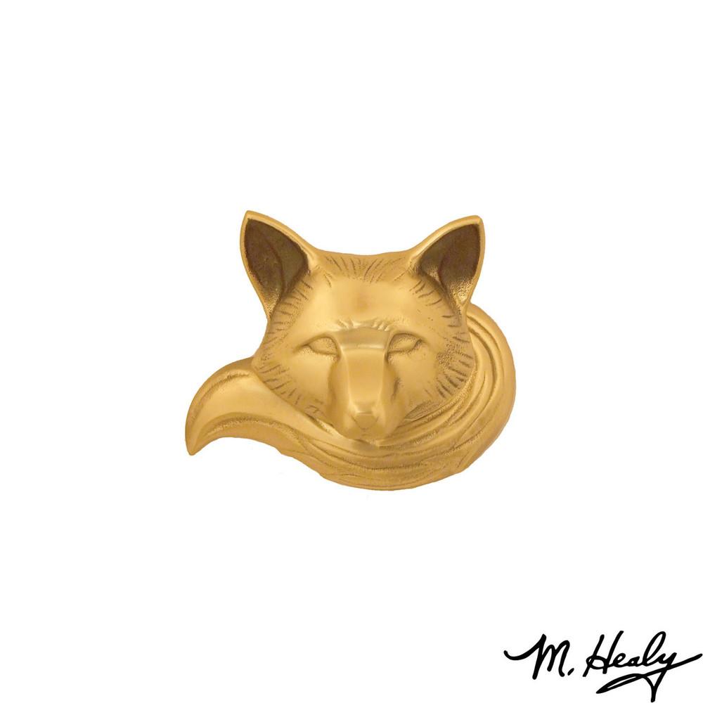 Fox  Brass Door Knocker | MHS91 | Michael Healy