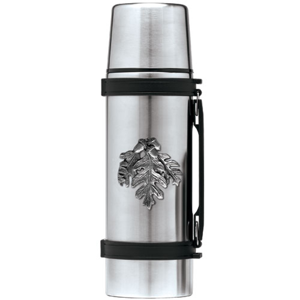 Oak Leaf Thermos | Heritage Pewter | HPITHS4136