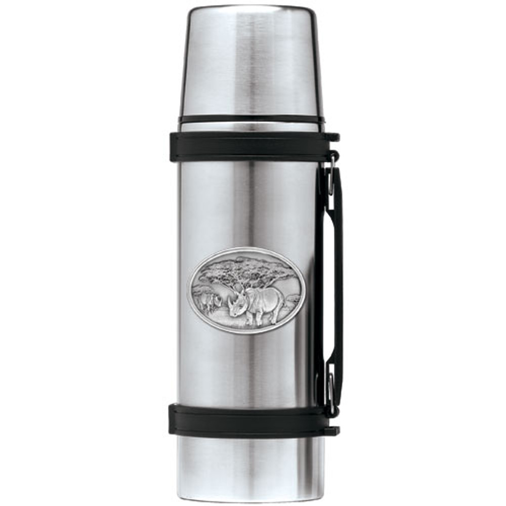 Rhino Thermos | Heritage Pewter | HPITHS136