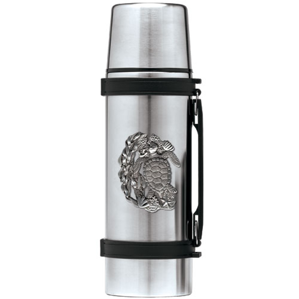 Sea Turtle Thermos | Heritage Pewter | HPITHS4146