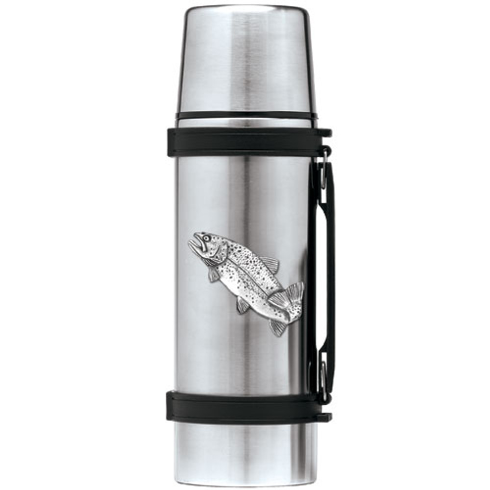 Trout Fish Thermos | Heritage Pewter | HPITHS4034