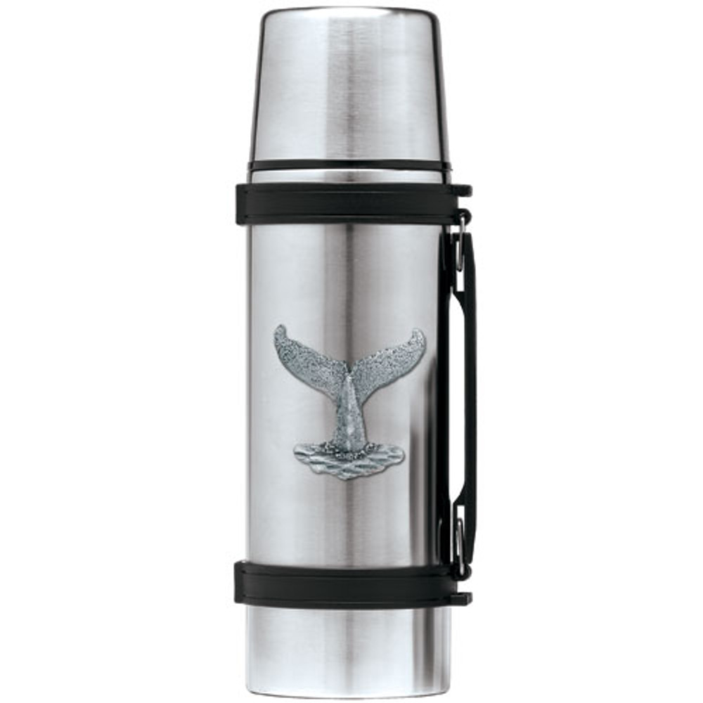 Whale Tail Thermos | Heritage Pewter | HPITHS4057