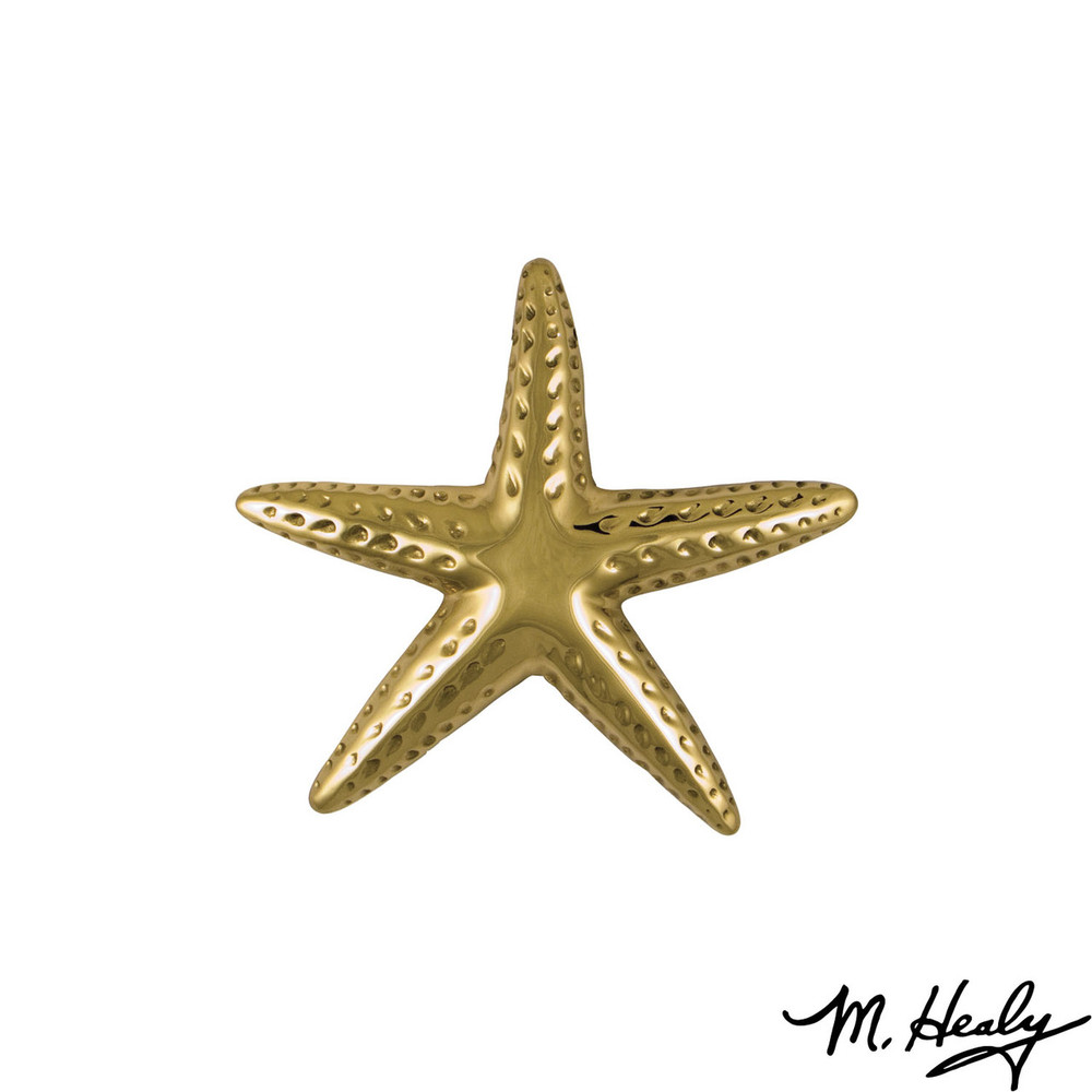 Starfish  Brass Door Knocker   MHS141   Michael Healy