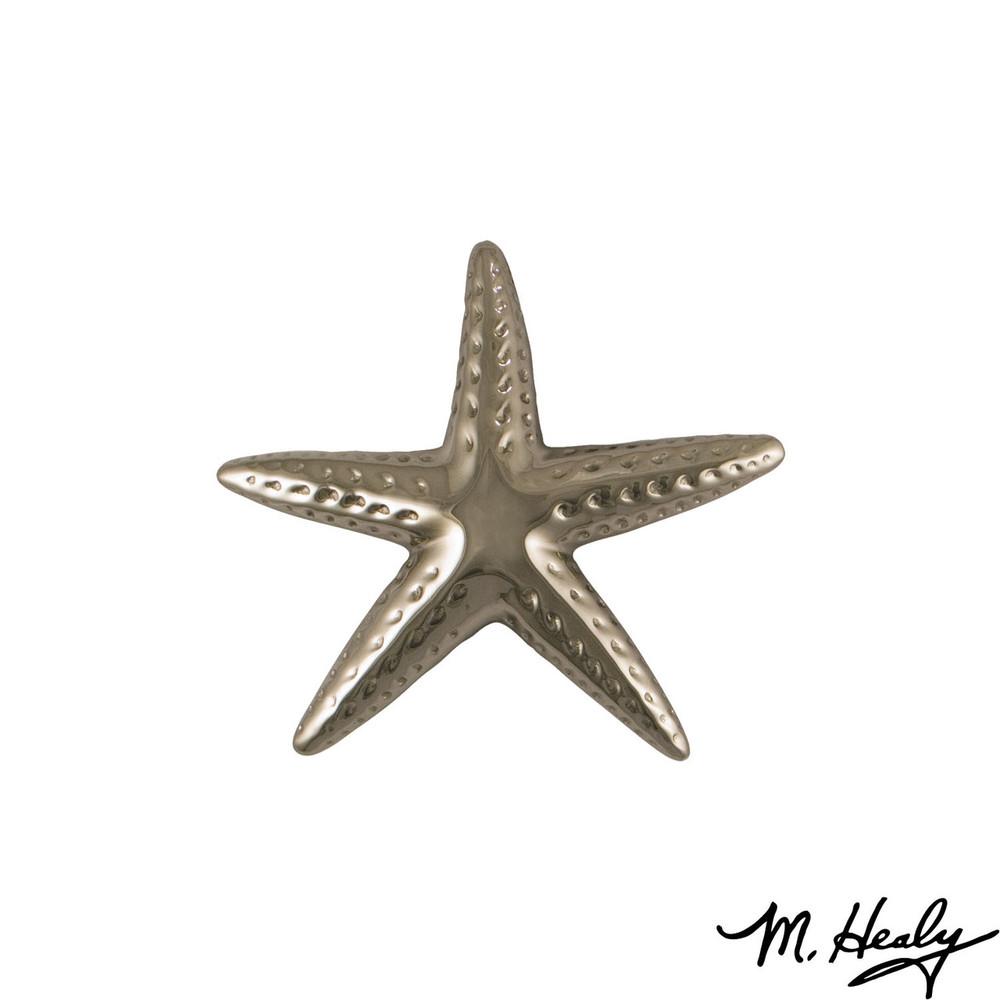 Starfish  Nickel Silver Door Knocker | MHS143 | Michael Healy