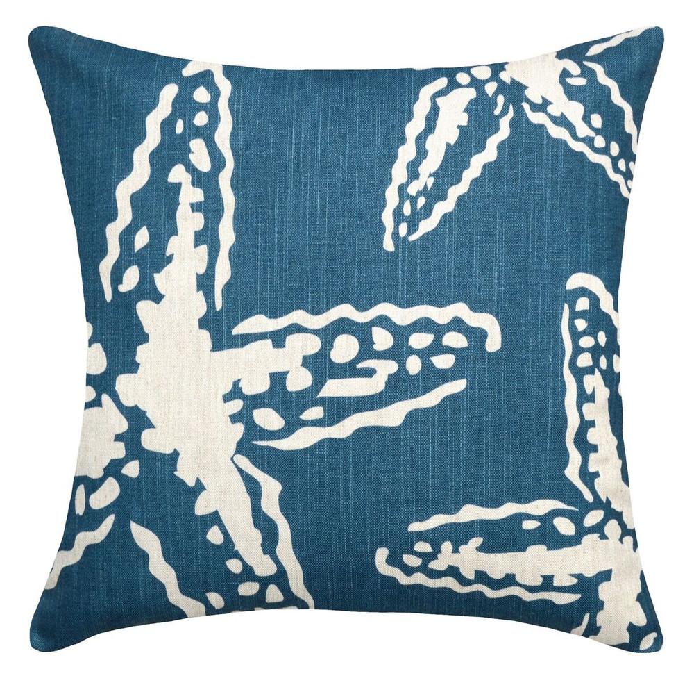 Star Fish Upholstered Pillow | Star Fish Pillow | CS105P-NY.20x20