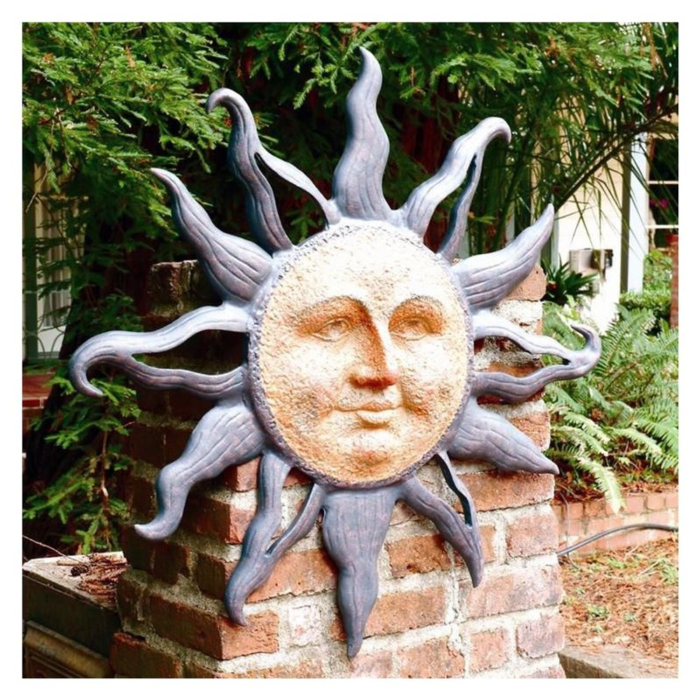 Rising Sun Wall Plaque | 30808 | SPI Home