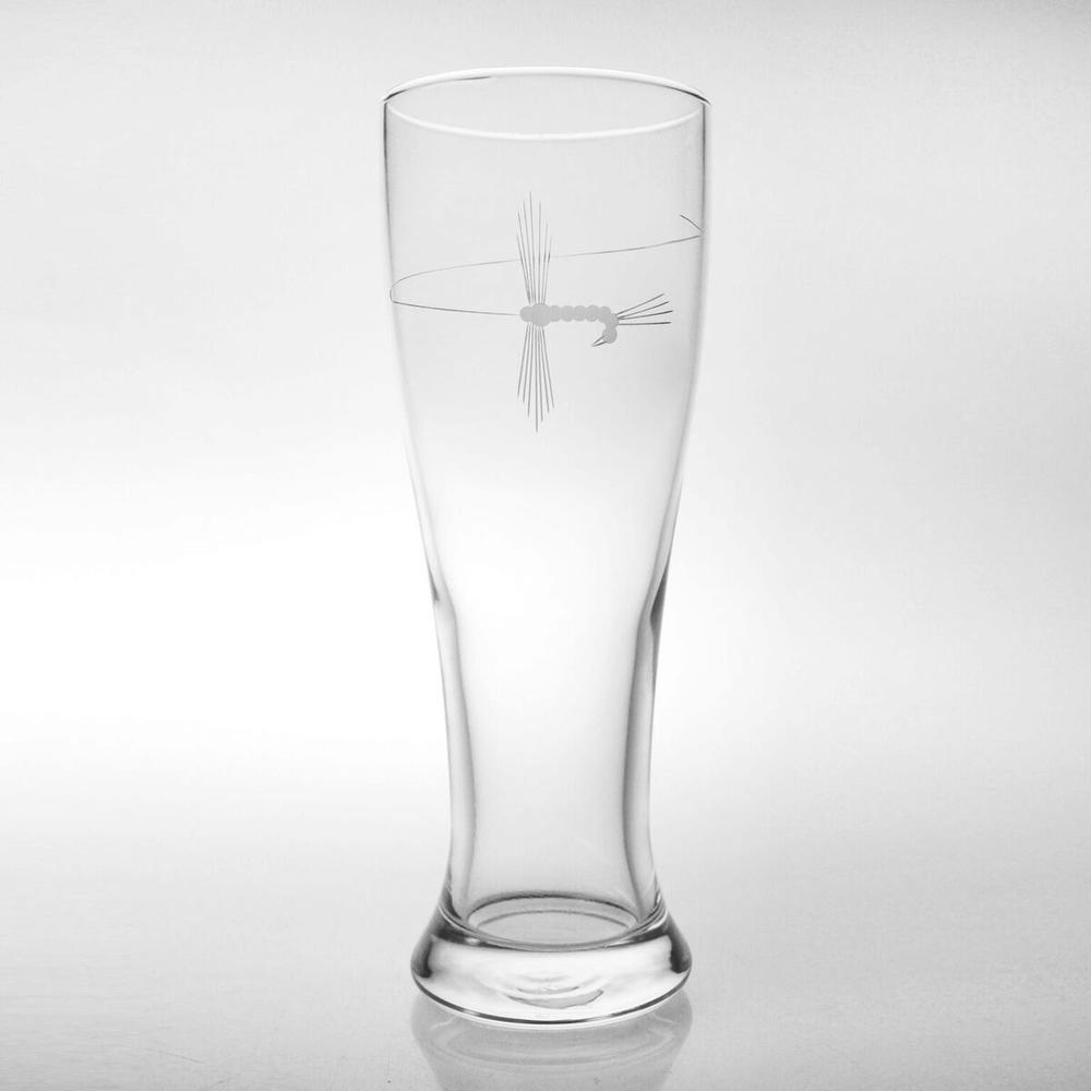 Fly Fishing Pilsner Glass Set of 4  | Rolf Glass | 410463