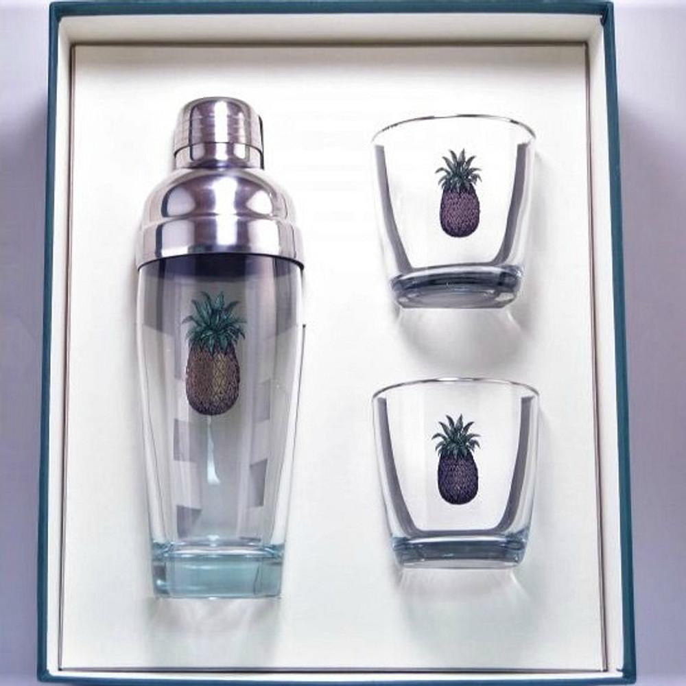 Pineapple Cocktail Shaker Set | Richard Bishop | 2037PIN