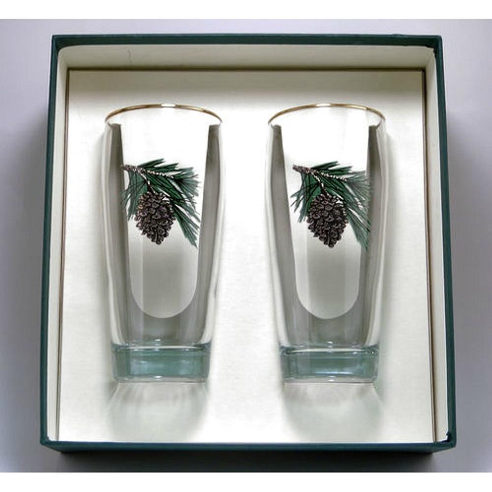 Pine Cone Beer Glass Set | Richard Bishop | 2043PCO