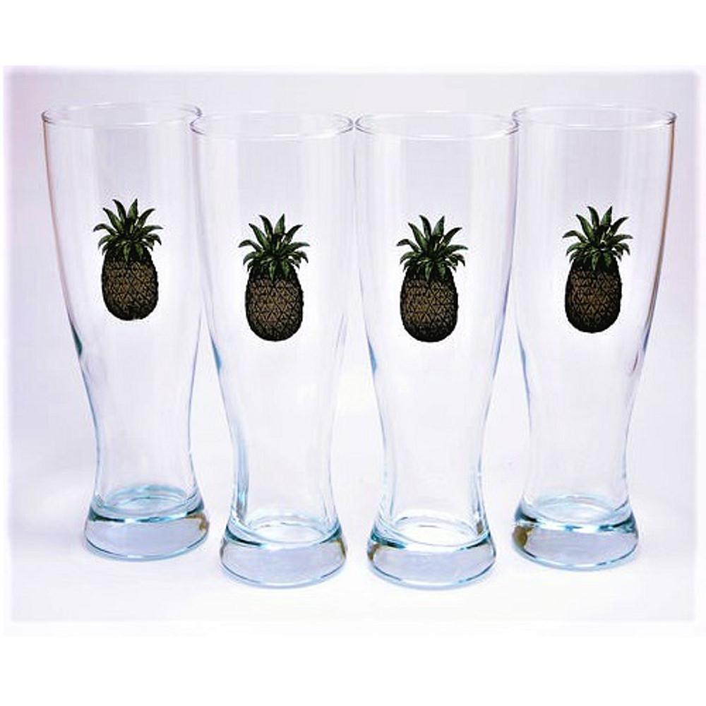 Pineapple Pilsner Glass Set | Richard Bishop | 2041PIN