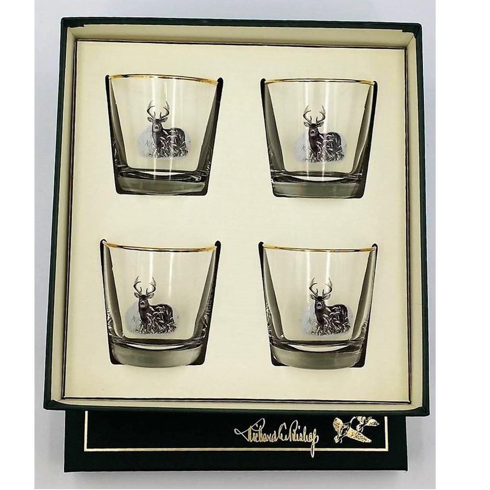 Deer Cocktail Glass Set | Richard Bishop | 2025DEE