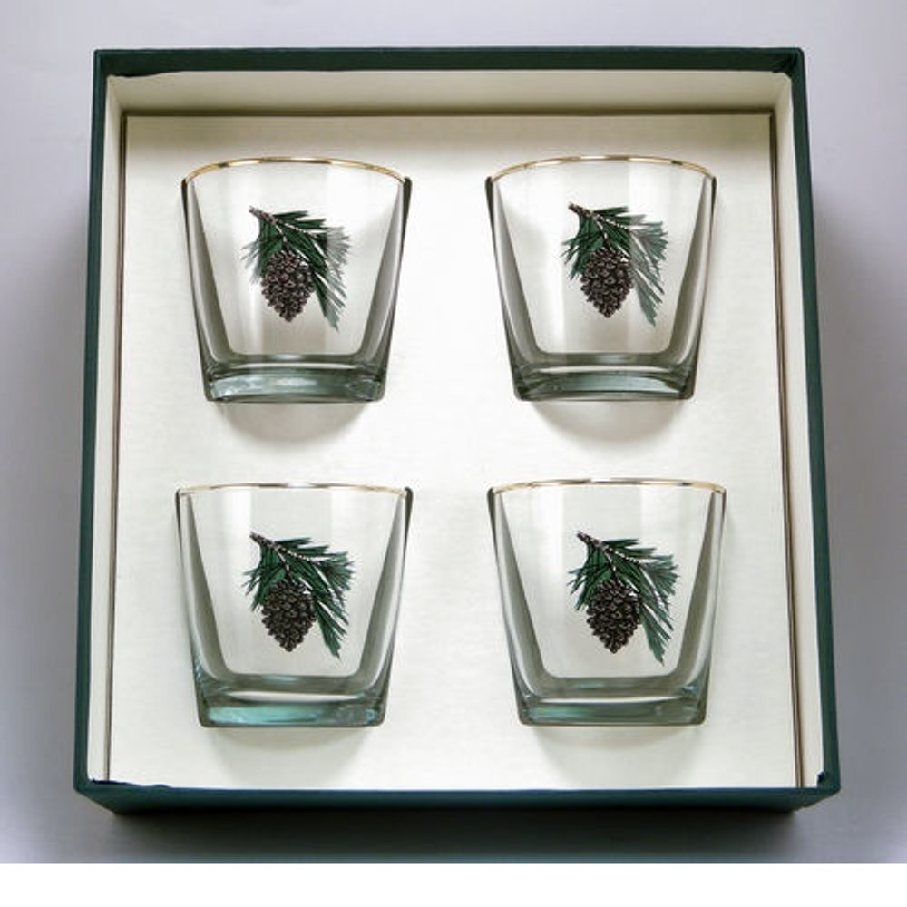 Pine Cone Cocktail Glass Set | Richard Bishop | 2025PCO
