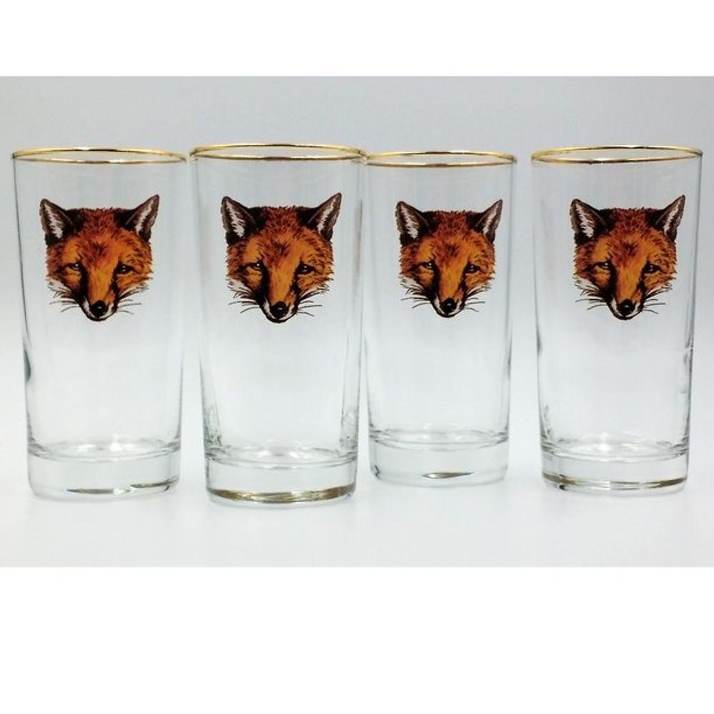 Fox Iced Tea Glass Set | Fox Mask | Richard Bishop | 2020FOX