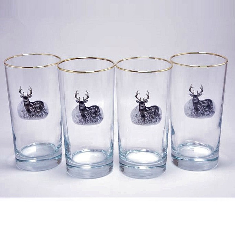 Deer Iced Tea Glass Set | Richard Bishop | 2020DEE