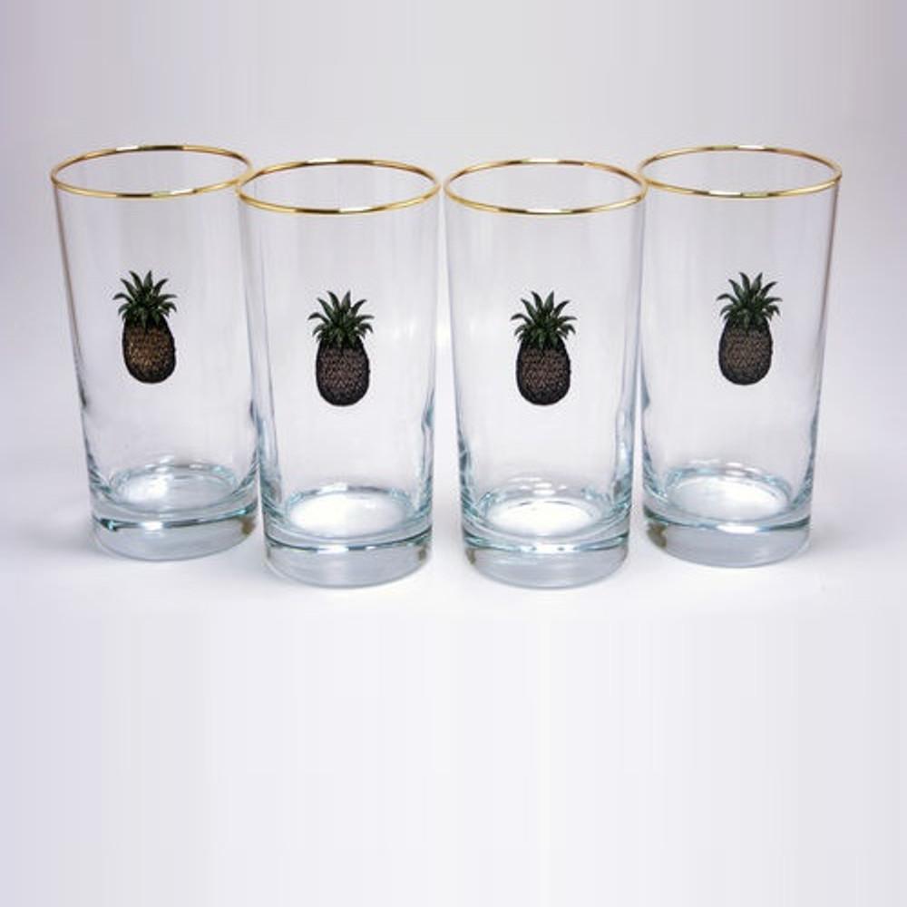 Pineapple Iced Tea Glass Set | Richard Bishop | 2020PIN