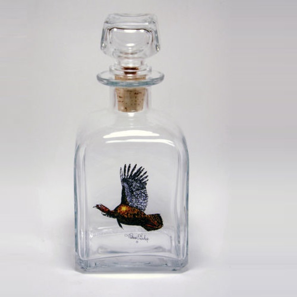 "Turkey Decanter | ""Gamebirds"" 