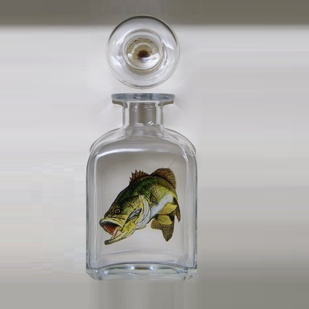 Bass Fish Decanter | Richard Bishop | 2061BAS