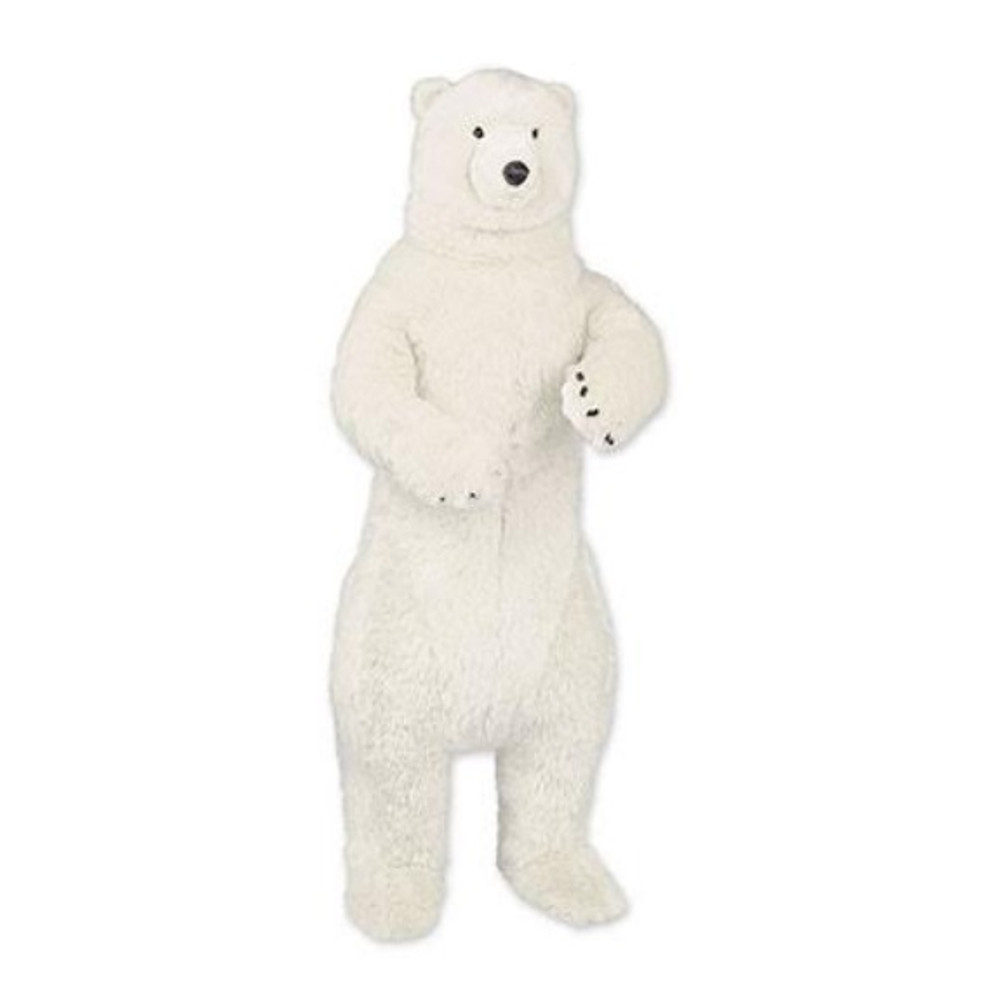 Standing 4 ft Polar Bear Plush Stuffed Animal | Ditz Designs | DIT75023