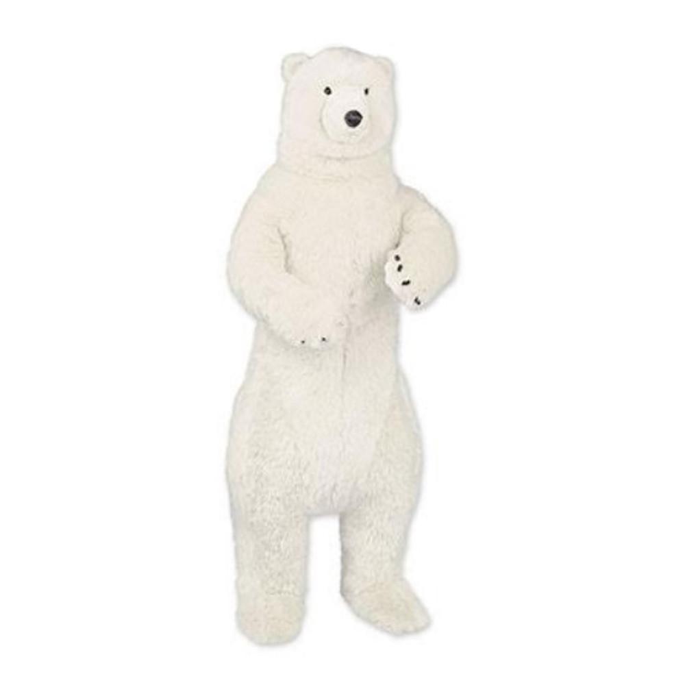 Standing 4 ft Polar Bear Plush Stuffed Animal | Ditz Designs | DIT75023
