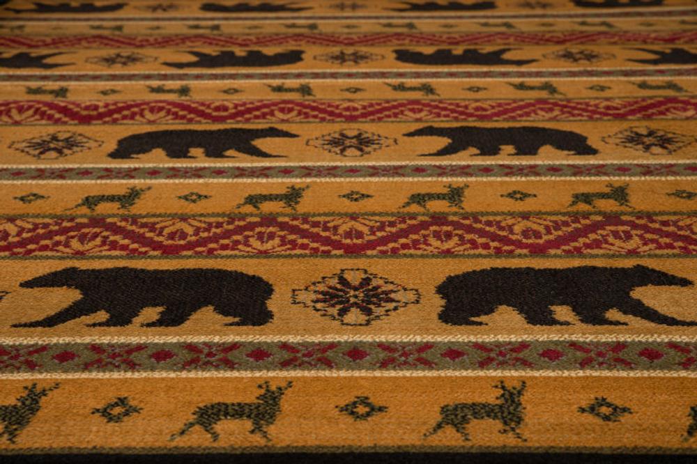 Nordic Bear Area Rug | United Weavers | UW750-03353