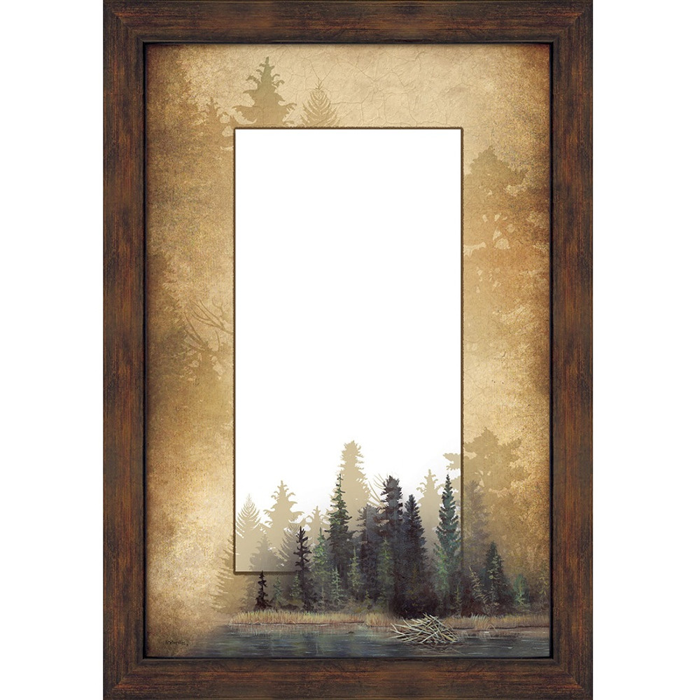 Misty Forest Decorative Mirror | Wild Wings | 5386493509