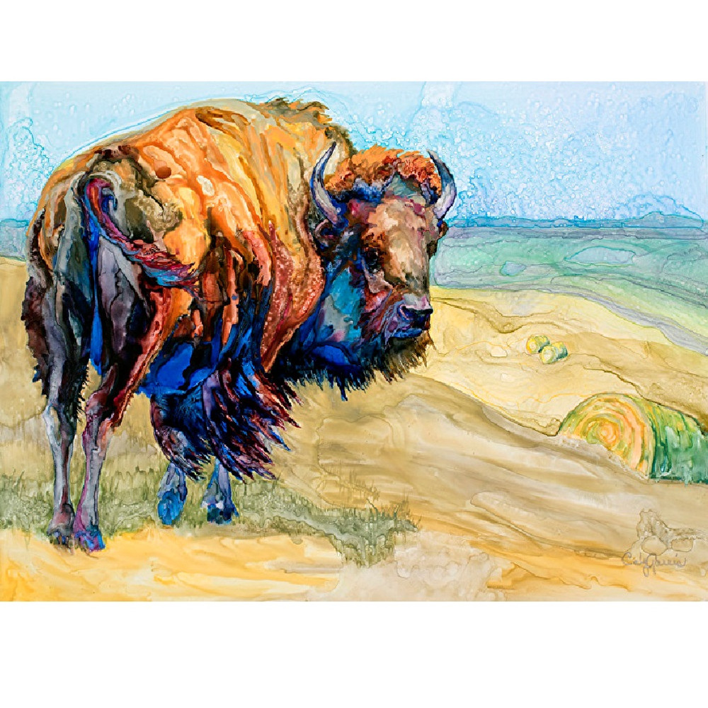 Bison Canvas Wall Art | Wild Wings | F283175069