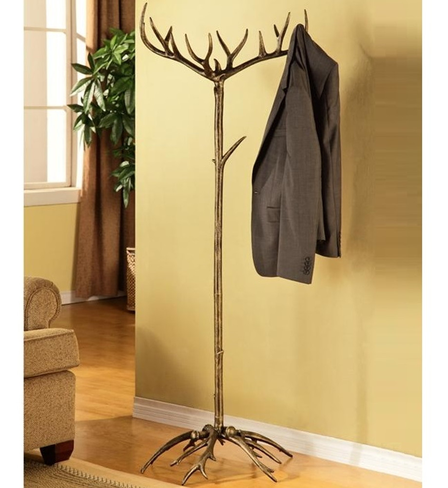 Faux-Antler Aluminum Coat Rack | 33785 | SPI Home