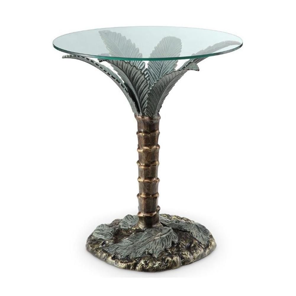 Palm Tree End Table | 33919 | SPI Home