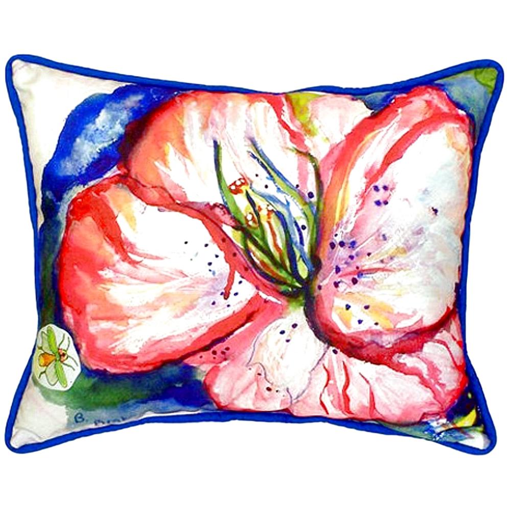 Hibiscus Indoor Outdoor Pillow 20x24 | Betsy Drake | BDZP422