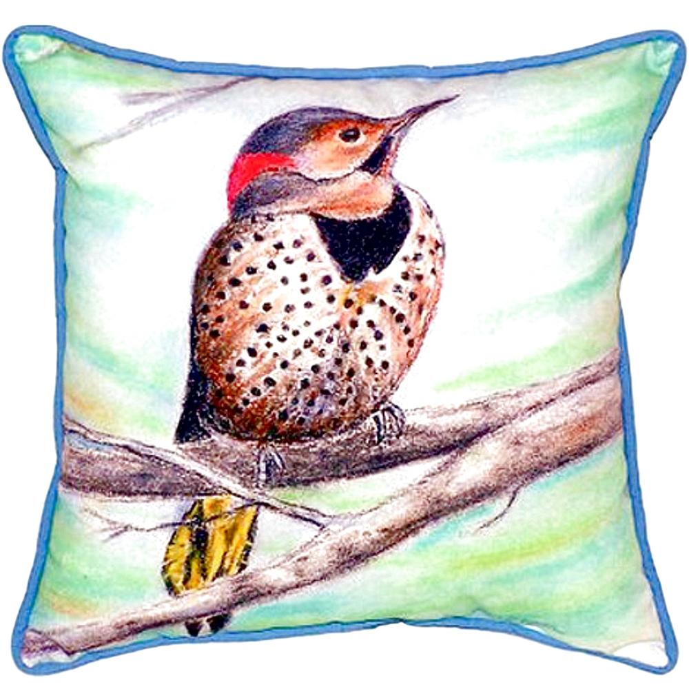 Flicker Indoor Outdoor Pillow 22x22 | Betsy Drake | BDZP514