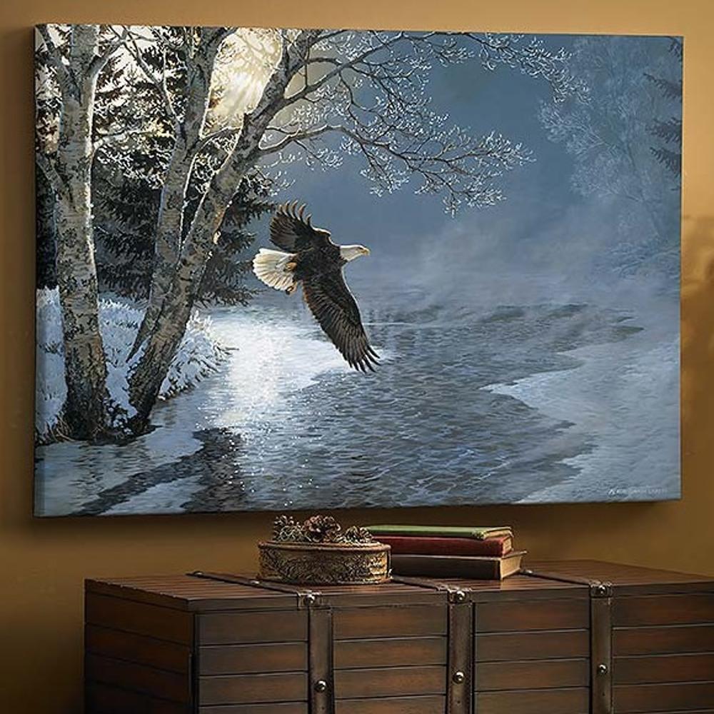 Bald Eagle Canvas Wall Art | Wild Wings | F925020532