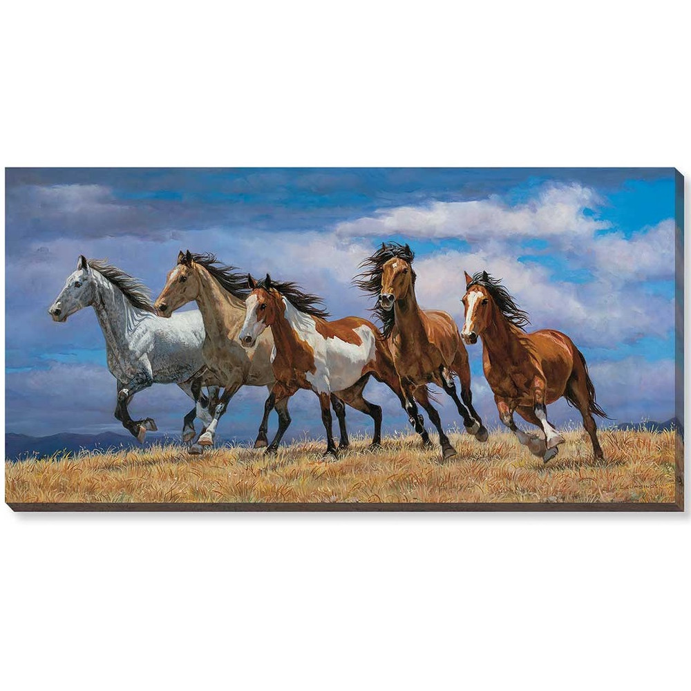 Horse Canvas Wall Art | Wild Wings | F195534581