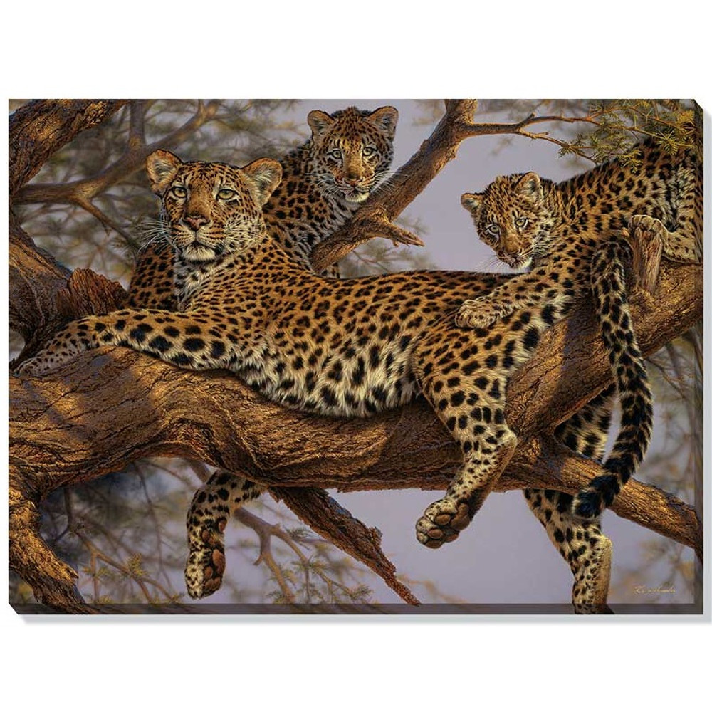 Leopard Canvas Wall Art | Wild Wings | F476201473