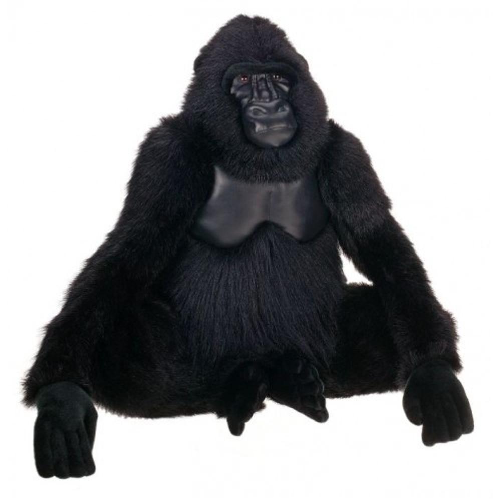 Gorilla Life-Sized Stuffed Animal | Plush Gorilla Statue | Hansa Toys | HTU3391