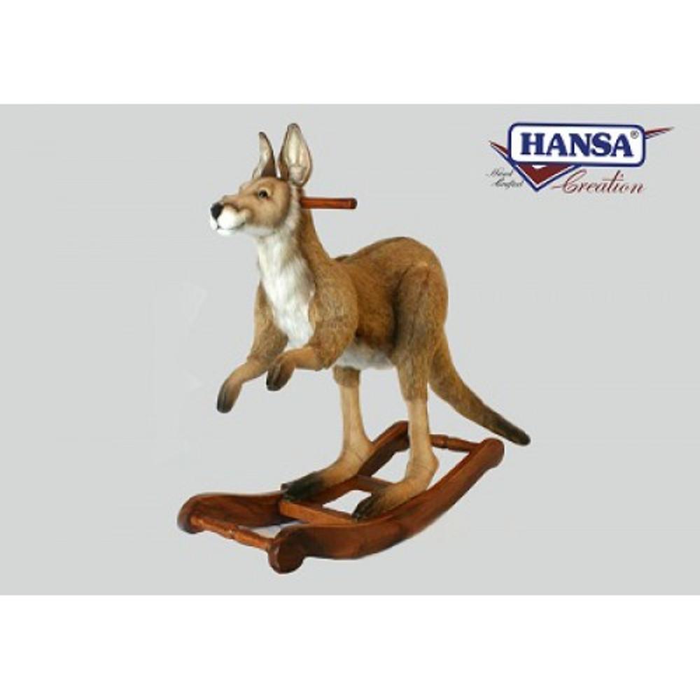 Kangaroo Plush Rocker | Kangaroo Stuffed Animal Rocker | Hansa Toys | HTU4268