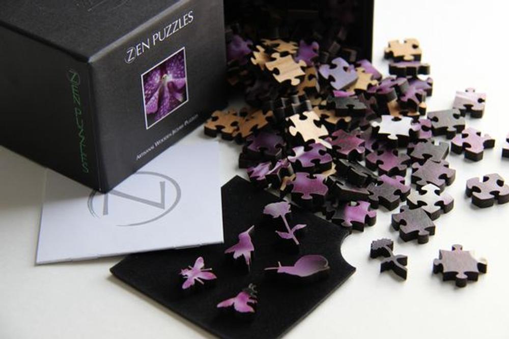 Polar Bear Artisanal Wooden Jigsaw Puzzle | Zen Art & Design | ZADPOLARBEAR