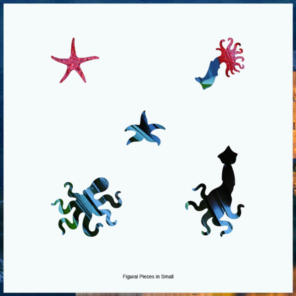 Starfish Artisanal Wooden Jigsaw Puzzle   Zen Art & Design   ZADSTARFISH