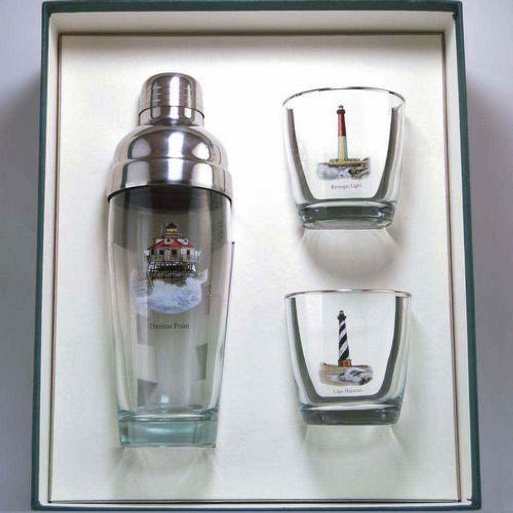 Lighthouse Cocktail Shaker Set | Richard Bishop | 2037LIG