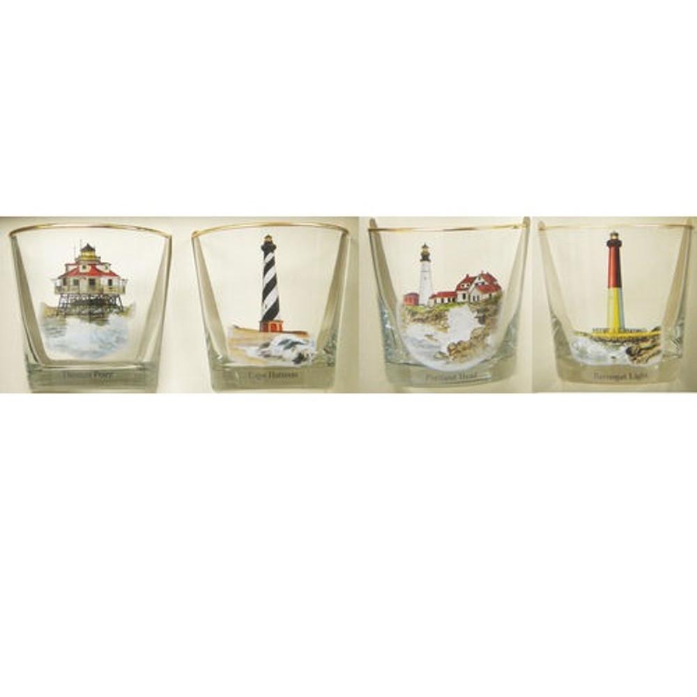 Lighthouse Cocktail Glass Set | Richard Bishop | 2025LIG