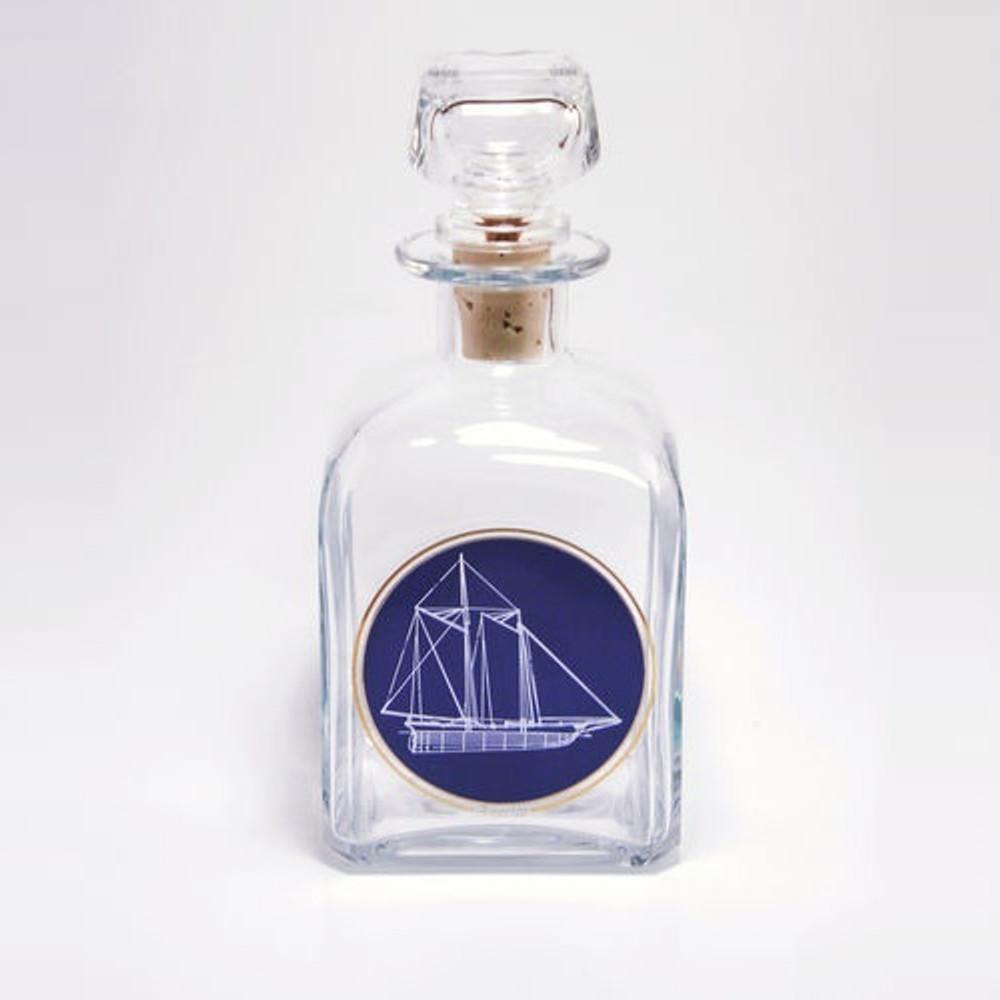 Sailboat Decanter | America's Cup | Richard Bishop | 2061AME