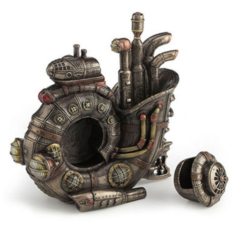 Steampunk Nautilus Submarine Trinket Box   Unicorn Studios   WU77119A4 -2