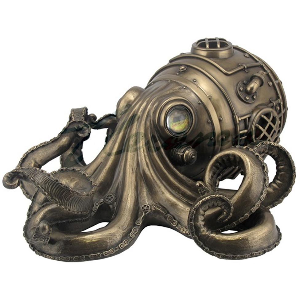 Steampunk Octopus Trinket Box | Unicorn Studios | WU76585A1