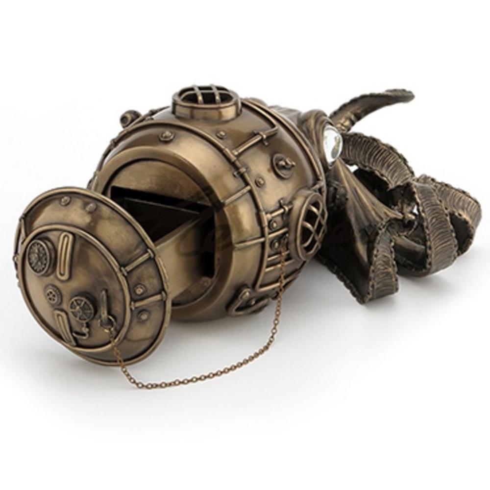 Steampunk Octopus Trinket Box | Unicorn Studios | WU76585A1 -2