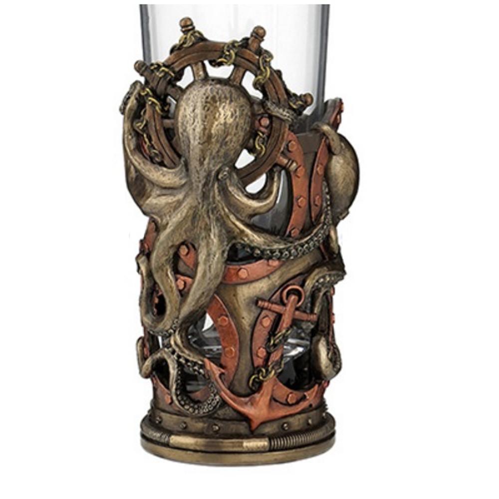 Steampunk Octopus Decanter | Unicorn Studios | WU76592A4 -2