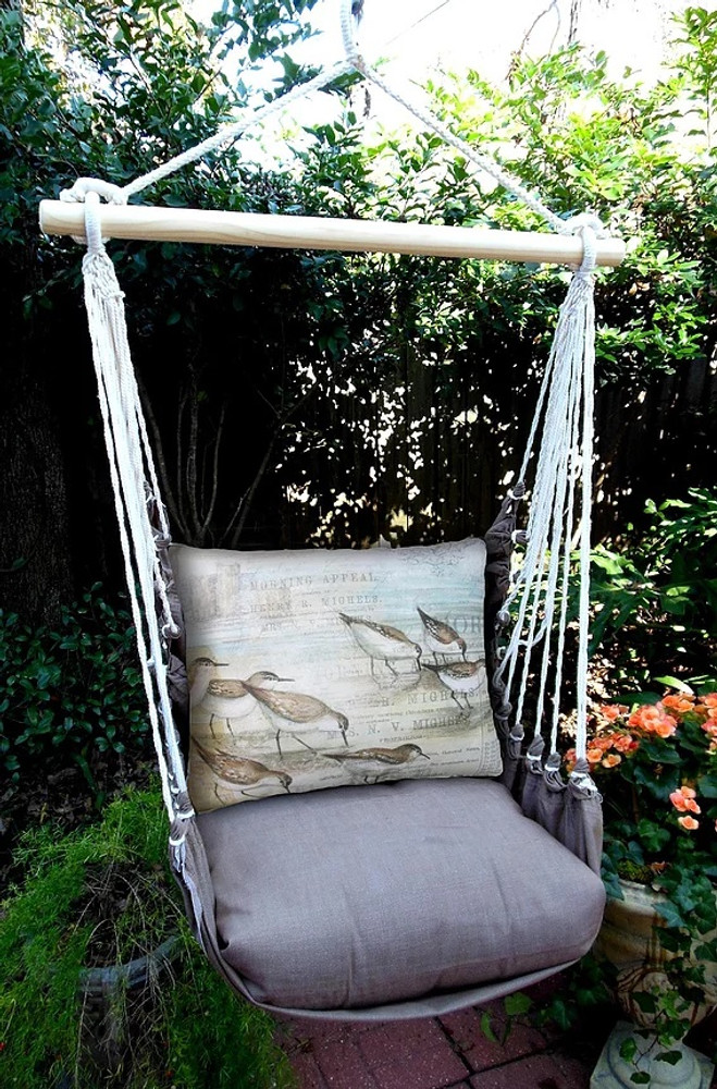 "Sandpiper Hammock Chair Swing ""Chocolate""| Magnolia Casual | CHSWSB"