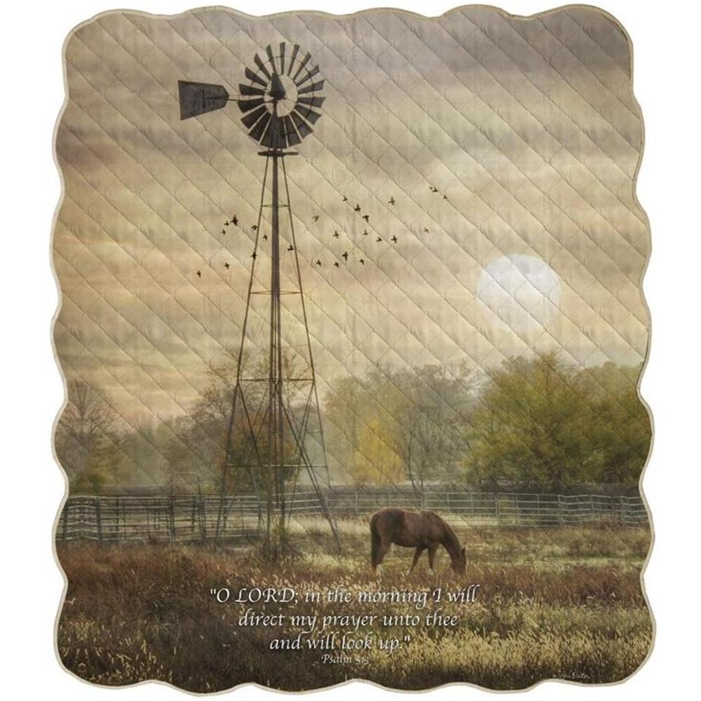 Horse Inspirational Quilt | Manual Woodworkers | AIQTOL